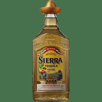 Tequila Sierra Gold 38%