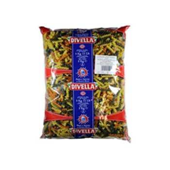 Pasta Skruer 3-farvet Divella