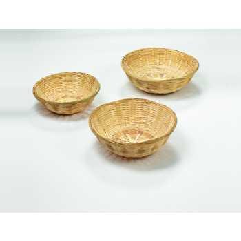 Brødkurv Rund Bambus 20 Cm