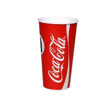 Papbæger Coca-Cola 40 Cl Ø90x130mm