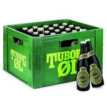 Tuborg Classic Øl 4,6% 33cl.
