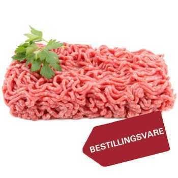 Flæskekød Hakket 16-20% Ca.2,5kg.