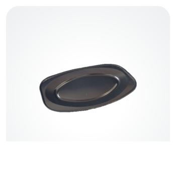 Bakke Oval Mellem 450mm Sort