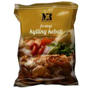 Döner Kebab Kylling Forstegt