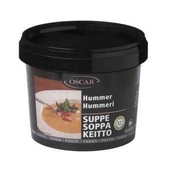 Hummersuppe Pasta Oscar