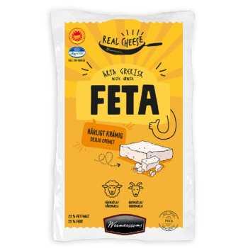 Feta Græsk Real Cheese Danmark Ca 2 Kg.