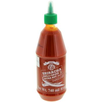 Chilisauce Hot Sriracha