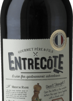 Rødvin Entrecote Merlot/cabernet 14% FR.