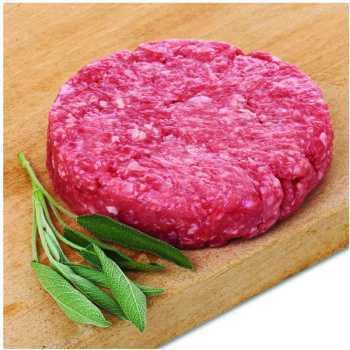 Burger Okse Ca.14% Halal 10 X Ca.150gr