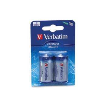 Batterier Verbatim Alkaline C