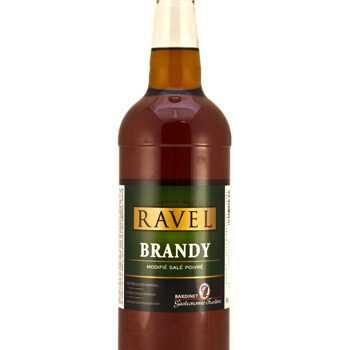 Madlavning Brandy 40% M/ Salt & Peber