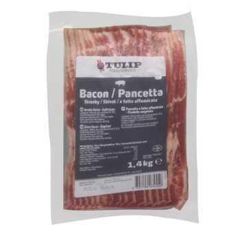 Bacon I Skiver Røget