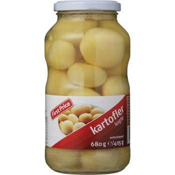 Kartofler Kogte I Glas