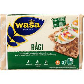 Knækbrød Rågi Wasa