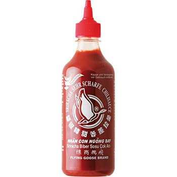 Chilisauce Sriracha Flying Goost