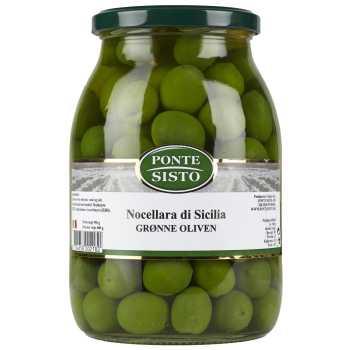 Oliven Grøn Nocellara Di Sicilla