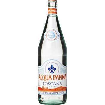 Mineralvand Aqua Panna 1ltr Glas