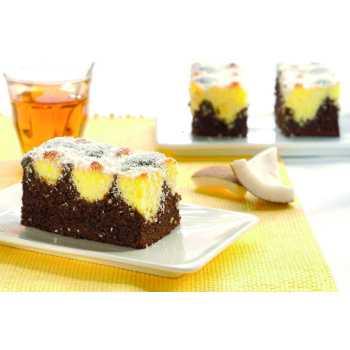 Chokolade/Kokos Kage 20 Stykker
