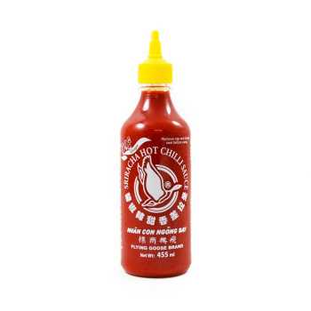 Chilisauce Sriracha M/ingefær