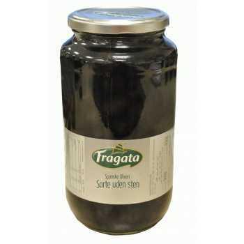 Oliven Sorte Uden Sten