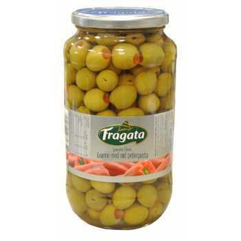 Oliven Grønne Med Peber