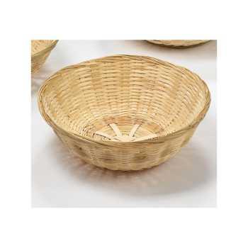 Brødkurv Rund Bambus 25 Cm