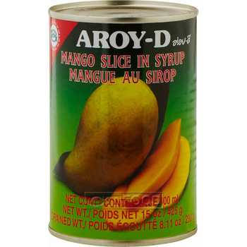 Mango Skiver I Light Syrup Aroy-D