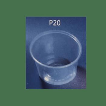 Microbæger M/låg 530 Ml P20
