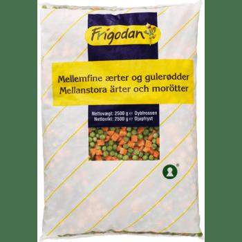 Ærter / Gulerødder Blanding