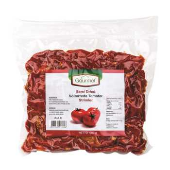 Tomater Soltørrede I Strimler Vac.