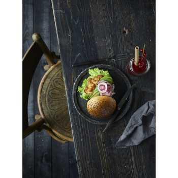 Burgerboller M/sort Sesam