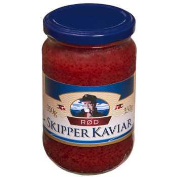 Caviar Stenbiderrogn Rød