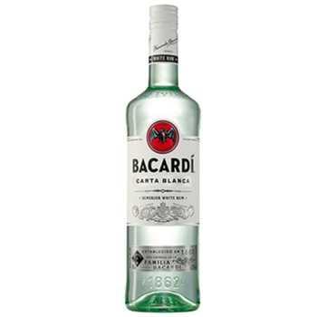 Rom Bacardi Carta Blanca 37,5%