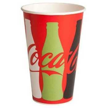 Papbæger Coca-Cola 30 Cl Ø80x120mm