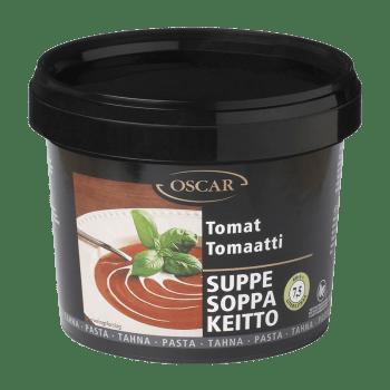 Tomatsuppe Pasta Oscar