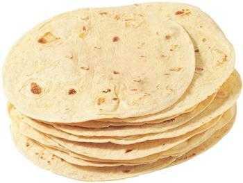 Tortilla Hvede Ca.25cm  12stk – 750g