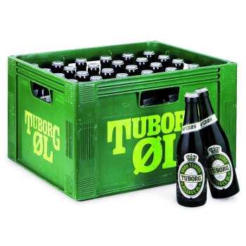 Tuborg Grøn Øl 4,6% 33cl.