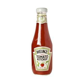 Tomatketchup Heinz Glas