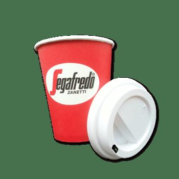 Låg Til Kaffebæger 12oz Segafredo