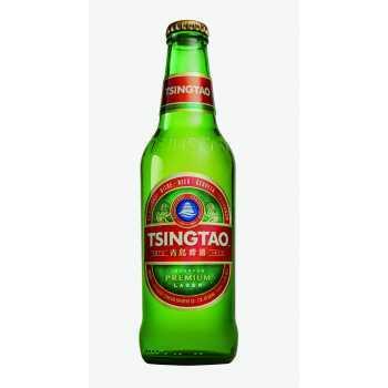 Tsingtao øl 4,7% 33cl.