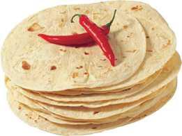 Tortilla Hvede Ca.15cm  12stk – 330gr.