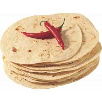 Tortilla Hvede Ca.25cm  12stk X 62,5g.