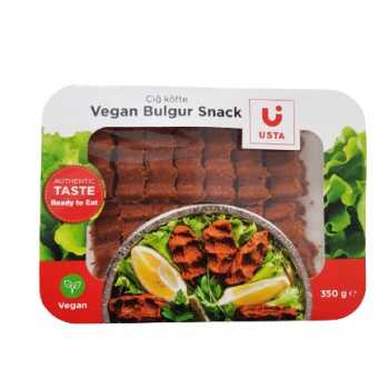 Cig Köfte,vegansk Bulgur Snack