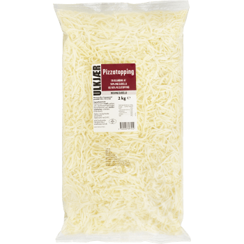Pizzatopping M/mozzarella +45 Ulkjær