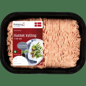 Kyllingekød Hakket 7-10% Køl