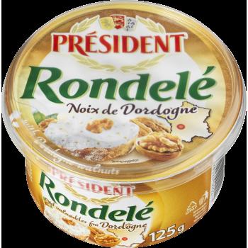 Flødeost M. Valnød Rondelé