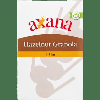 Müsli Granola Hasselnød Axana