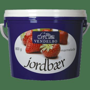 Jordbærmarmelade Vendelbo