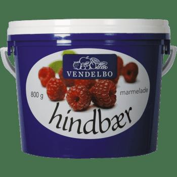 Hindbærmarmelade Vendelbo
