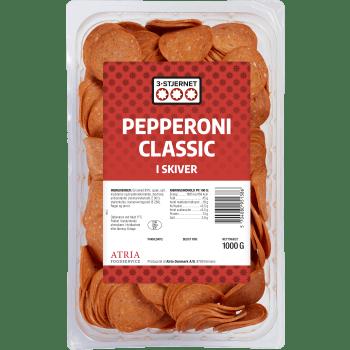 Pepperoni Classic 3-Stjernet